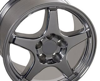 17 Rim Fits Corvette ZR1 Polished V Lip Wheel 17x 11