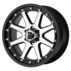 20 inch XD Addict Black Wheels Rims 6x135 Ford F150 12