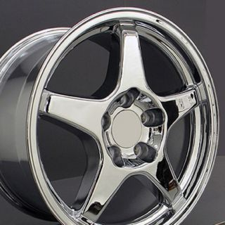 17 Chrome ZR1 Wheels Set of 4 Rims Fit Corvette Camaro SS Z28 Trans