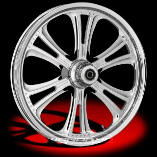 Czar Chrome Wheels Tires for 2000 13 Harley Softail Dyna Sportster