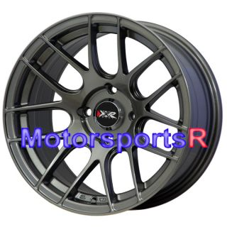 Gun Metal Concave Rims Wheels Stance 4x114 3 94 Honda Accord EX