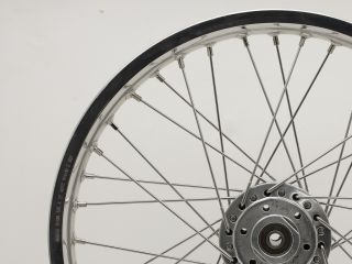 21 Wheel Morad Akront Alloy Rim 21 x 1 85 40 Stainless Butted Spokes