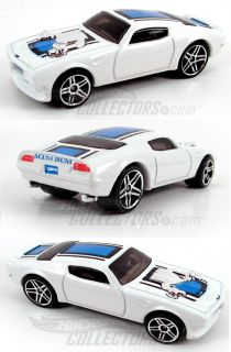 2007 Hot Wheels 017 Ford GTX 1 White