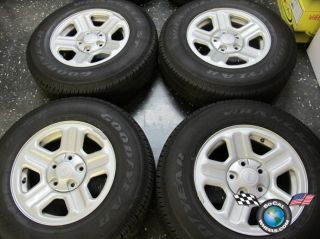Four 07 12 Jeep Wrangler Factory 16 Steel Wheels Tires 9072