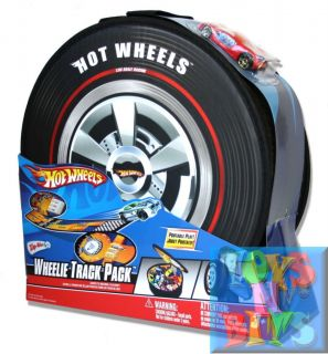 Hot Wheels Hotwheels Car Carry Case Wheelie Track Pack