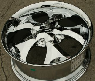 20 Chrome Rims Wheels Chevrolet Trailblazer 20 x 8 5 6H 36