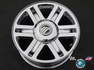 02 05 Mercury Mountaineer Factory 16 Chrome Wheels OEM Rims 3457