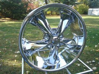 FOOSE Legend 1 17x8 Chevy GMC 5 Lug Truck Wheels Chrome New