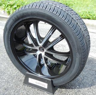 22 II 2 Crave 21 Wheels Rims Nexen Tires Chevy Silverado GMC Sierra