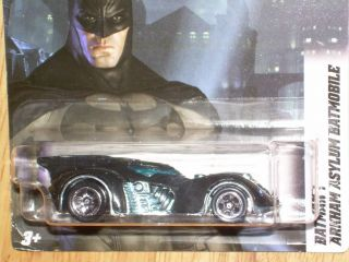 Mattel Hot Wheels 1 64 Scale DC Batman Arkham Asylum Batmobile 06 08