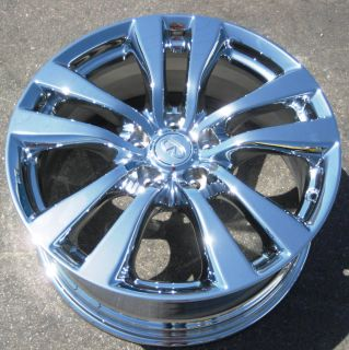 YOUR STOCK 4 18 FACTORY INFINITI M45 M35 M37 OEM CHROME WHEELS RIMS
