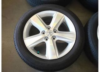 17 Toyota Camry Avalon Wheels Rims 2010 11 SE Tires Factory Sienna 10