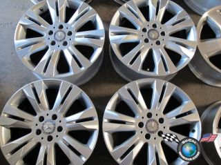 2011 Mercedes Benz MBZ S550 S600 Factory 18 Wheels Rims OEM CL550