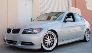 18 Staggered LM Style Silver Wheel Fit E39 E46 E90 E85 E89 Z3 Z4 3