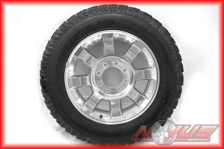 F250 F350 SUDERDUTY FX4 POLISHED KING RANCH WHEELS BFGOODRICH TIRES 18