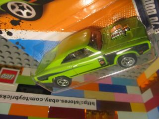 Hot Wheels Lime Green 70 Dodge Charger R T Diecast Muscle Mania Mopar