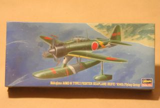 Nakajima A6M2 N Type 2 Fighter Sea Plane 1 72 Scale SEALED 12