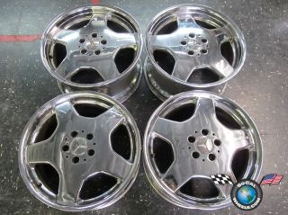 99 06 Mercedes MBZ S420 S55 CL500 CL600 Factory AMG 18 Wheels Rims