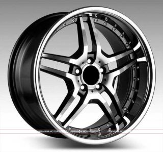 inch rims wheels MERCEDES BENZ S430 S500 S550 S600 EUROMAG EM2 WHEELS