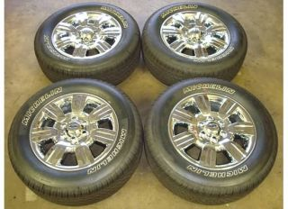18 Ford F 150 WHEELS Rims CHROME Tires OEM Lariat XLT 09 11 10 F150