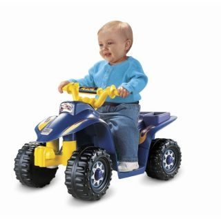 Fisher Price Power Wheels Lil Quad 6V ATV Ride On