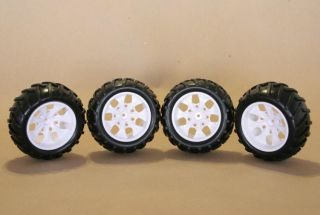 TRUCK OR TRUGGY TIRES 1/10 SCALE OFF ROAD OR ONROAD WHEELS