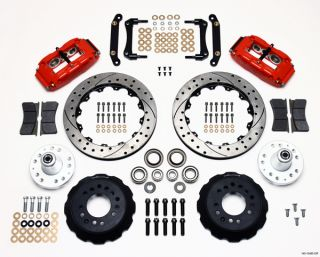 Wilwood Disc Brake Kit 70 78 Camaro 73 77 Malibu Cutlass GTO 13 12