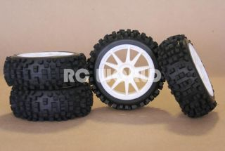 RC 1 8 Car Buggy Truck Truggy Tires Wheels Rims Spike