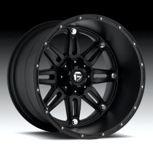22x14 Fuel Hostage black wheel rim 8x170 Lifted F250 F350 Excursion