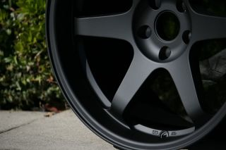 Honda Civic SI Wheels Rims Varrstoen 18x9 5 22 Black