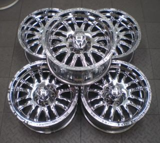 Supernatural Jeep Wrangler 18 Aftermarket Chrome Wheels Rims 5
