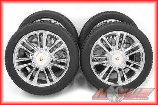 Escalade Platinum Chrome Wheels Bridgestone Tire 20 Tahoe Yukon