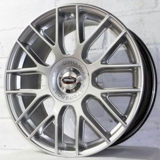 FORD FOCUS MK3 2011 2012 TEAM DYNAMICS IMOLA SILVER ALLOY WHEELS 5x108