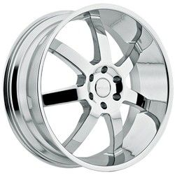 22 Inch Menzari Z09 Chrome Wheels Rim 6x135 +35 / Ford F150 Expedition