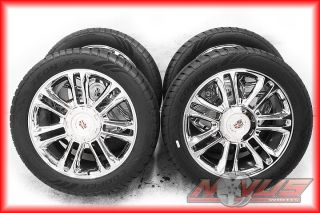 Escalade Platinum Chrome Wheels Tires Chevy Tahoe GMC Denali 20