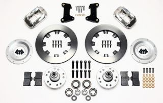 Wilwood Disc Brake Kit Front 74 80 Pinto 12 Rotors Polished Calipers