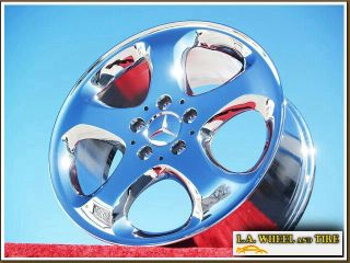 NEW MERCEDES BENZ E320 E430 17 CHROME OEM WHEELS RIMS EXCHANGE 65195