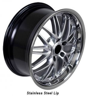 18 Rim Fits BMW 3 Hyper Black Wheel 18 x 8