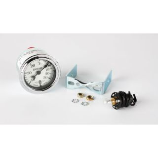 New Stewart Warner Wings Boost Gauge Only White