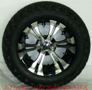 Golf Cart 14 Vampire Wheels and 23 10 14 Tires