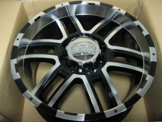 New ion Alloy 179 Black Wheel 20 x 9 8 x 165 1