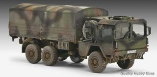 Revell 1 72 Man 7T Milgl Supply Truck Model Kit 3179