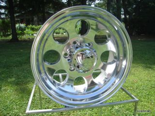 171 Polished ion 16x8 6 Lug Chevy GMC Truck Toyota Wheels