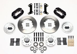 Wilwood Disc Brake Kit 67 69 Chevy Camaro 11 Black