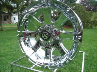 ATX 188 Ledge Colorado Canyon GMC Chrome American Racing Wheels New
