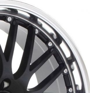 17 Netz Black Wheels Rims 4x100 Fit Civic Scion XB XA Yaris