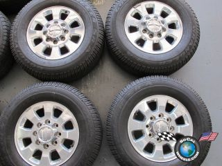 GMC Sierra Denali 2500 3500 Factory 18 Wheels Tires Rims 8x180