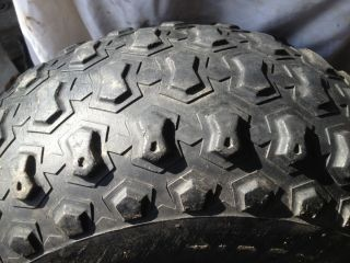 250 SX 250 ES BIG RED ~ WHEEL RIM TIRE ~ CARLISLE 22 X 11   8 SEE PICS