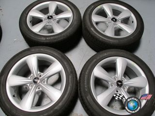 2012 Ford Mustang Factory 18 Wheels Tires OEM Rims Pirelli 235/50/18