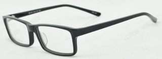Rectangle Plastic RX Full Rim Clear Lens Designer Mens Eyeglasses Eye